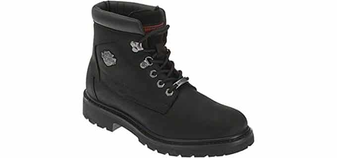 Harley Davidson Men's Wolverine Badlands - Motorcycling Inspired Boot