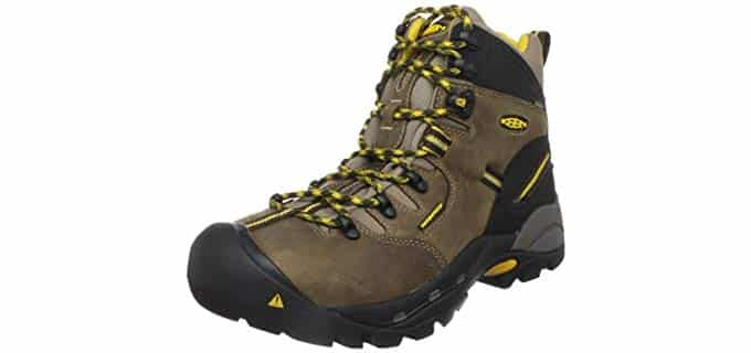 Keen Utility Men's Pittsburg - Breathable Classic Dry-Lex Work Boots