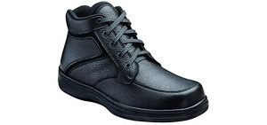 Orthofeet Men's Orthopedic - Work Boots for Back Pain