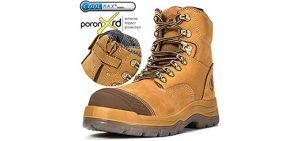 Rockrooster Men's Anti-static Tarsal Tunnel Syndrome Work Boot - Steel Toe Comfort Work Boot