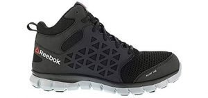 Reebok Work Men's Sublite Cushion Work Mid SD Black 10.5 D US D (M) 2 of 3