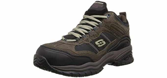 Skechers Men's Soft Stride - Memory Foam Work Boot
