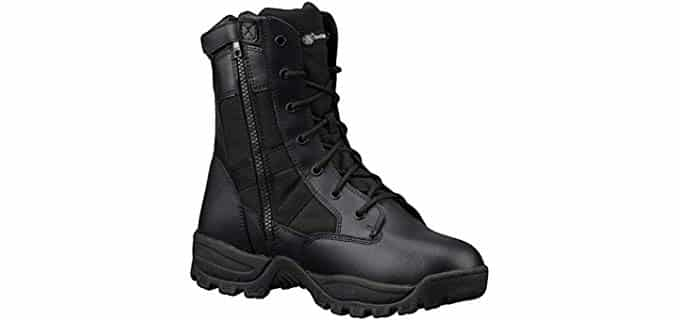 Smith & Wesson Men's Breach - Waterproof Side Zip Work Boots