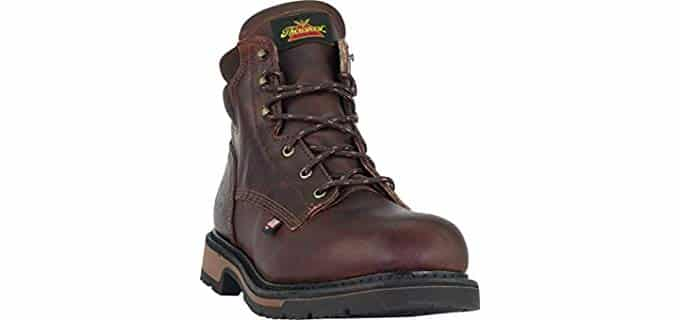 Thorogood Men's American Heritage - 6 Inch Safety Toe Work Boot