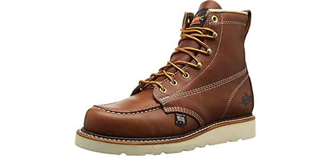 Thorogood Men's American Heritage - MaxWear Safety Work Boot for Sore Feet