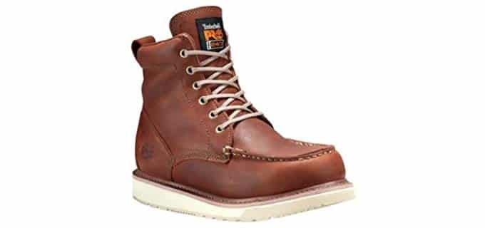 Timberland Pro Men's Wedge Sole - Stylish Work Boot