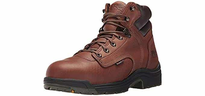 Timberland Pro Men's Titan - Safety Toe Work Boot for Sore Feet