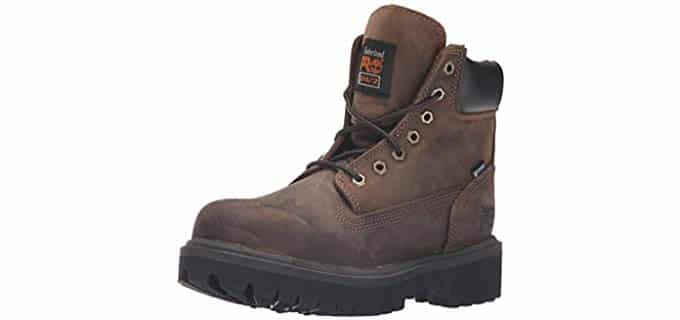 Timberland Pro Men's Direct Attach - Steel Toe Work Boot for Back Pain