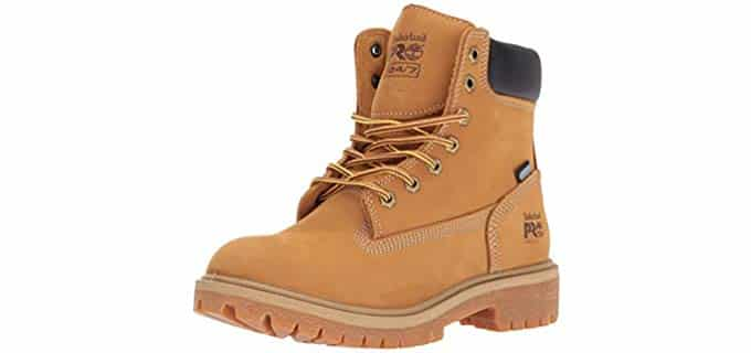 Timberland Pro Women's Direct Attach - Traditional Work Boot in Wheat