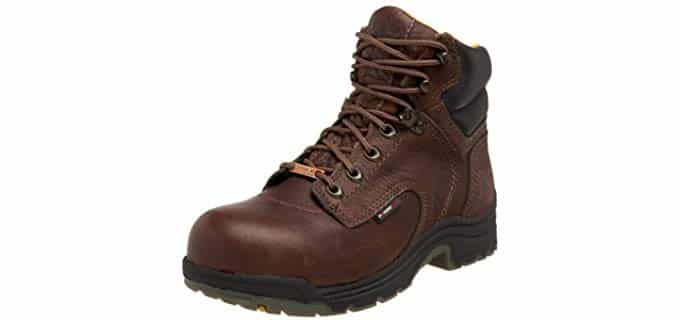 Timberland Pro Women's Titan - Landscaping Work Boot with Waterproofing