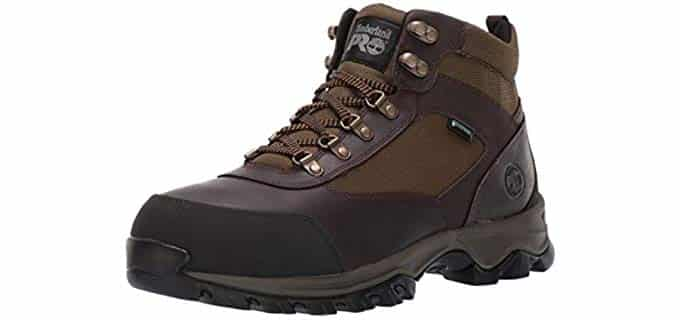 Timberland Pro Men's Keele Ridge - Steel Toe Hiker Boot for Hot Weather