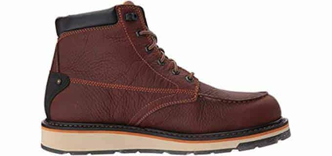 Timberland PRO Men's Gridworks Moc Soft Toe Waterproof Industrial Boot, Brown, 11.5 W US 6 of 6