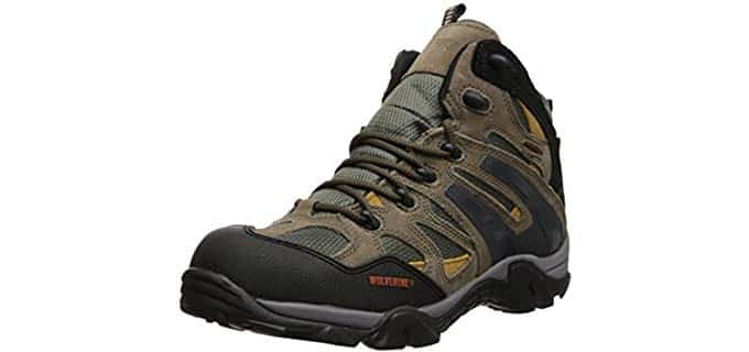 Wolverine Men's Wilderness - Hiking Work Boot for Hot Weather