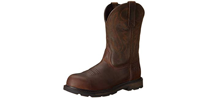Ariat Men's Groundbreaker - Steel Toe Electrician Boot