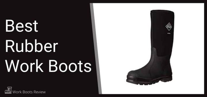 Rubber Work Boots