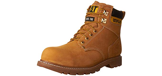 Caterpillar Men's Second Shift - Lightweight Durable Work Boot