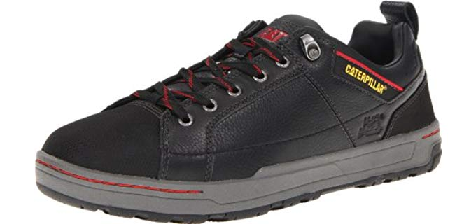 Caterpillar Men's Brode - Steel Toe Skate Style Work Shoe