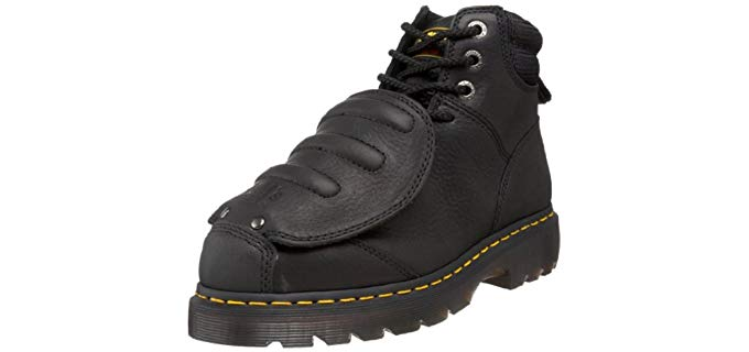 Dr. Martens Men's IronBridge - Steel Toe Longest Lasting Work Boot