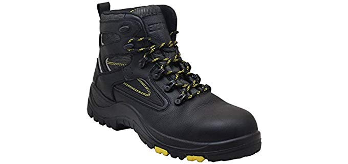 Ever Boots Men's Protector - High Arch Protective Work Boot