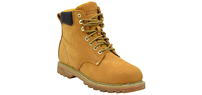 Ever Boots Men's Tank - Soft Toe Construction Work Boots