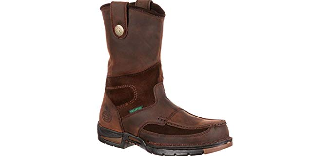 Georgia Men's Athens - Work Boot for Flat Feet