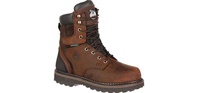 Georgia Boot Men's Brookville - Anti Fatigue Waterproof  Work Boots
