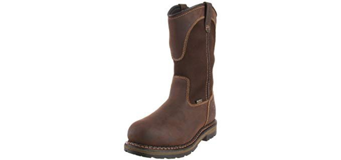 Irish Setter Men's Wellington - Slip On Aluminium Toe Work Boot