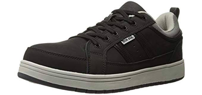 Iron Age Men's Board Rage - Industrial Steel Toe Skate Shoe