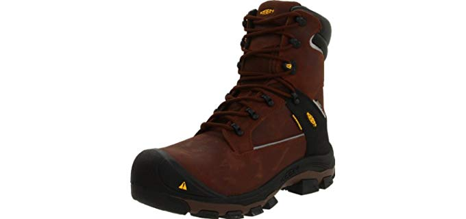 Keen Utility Men's Portland - Aluminium Toe Puncture Proof Work Boots