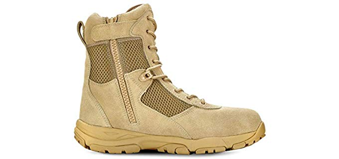 MAELSTROM Men's Landship - Breathable and Flexible Work Boots