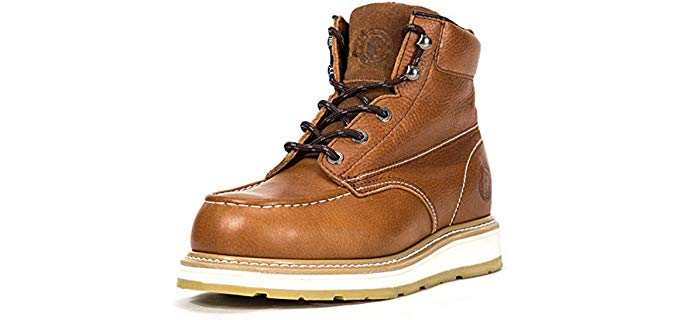 Rockrooster Men's Waterproof - Stylish Kitchen Work Boot