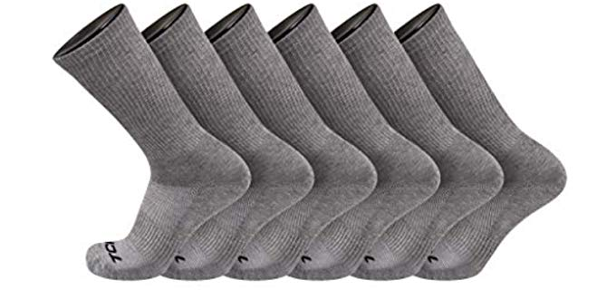 TCK Brands Men's Sweat Less - Dry Socks
