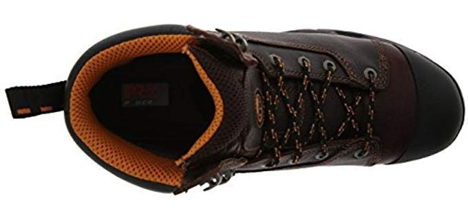 anti-fatigue work boots