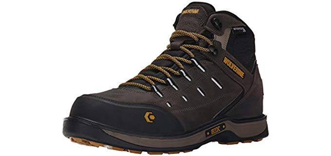 Wolverine Men's LX - Shock Absorbing High Arch Work Boot