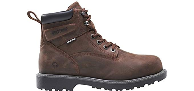 Wolverine Women's Floodhand - Waterproof Construction Work Boots