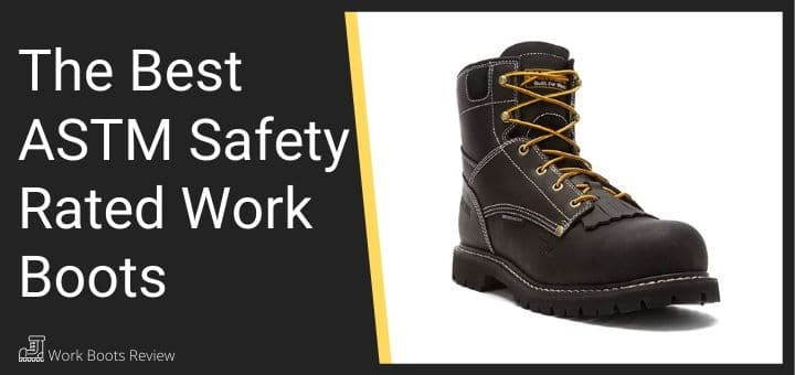 safety rated work boots