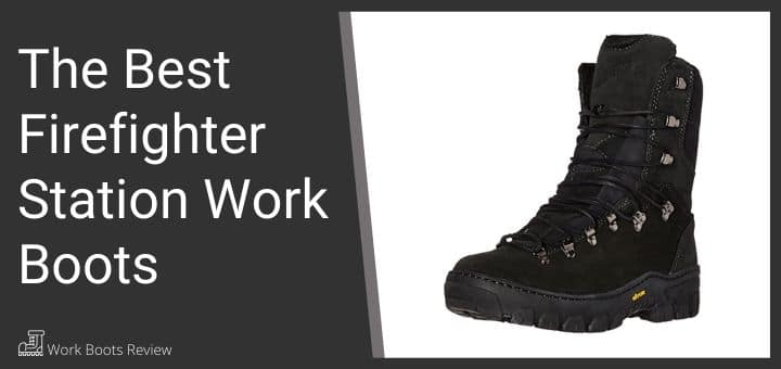 firefighter station boots