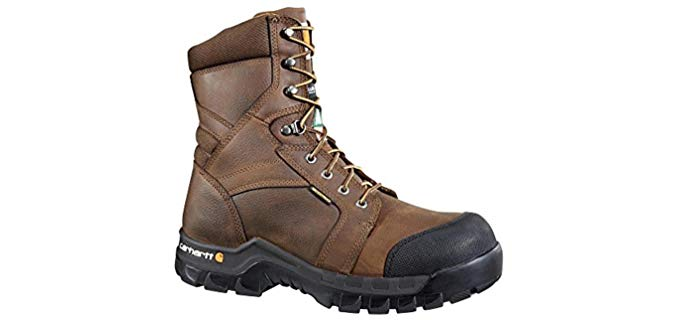 Carhartt Men's Rugged Flex - CSA Electrical Hazard Safe Work Boot