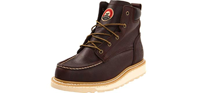 Red Wing Men's Irish Setter - Wedge Sole Diabetic Work Boot