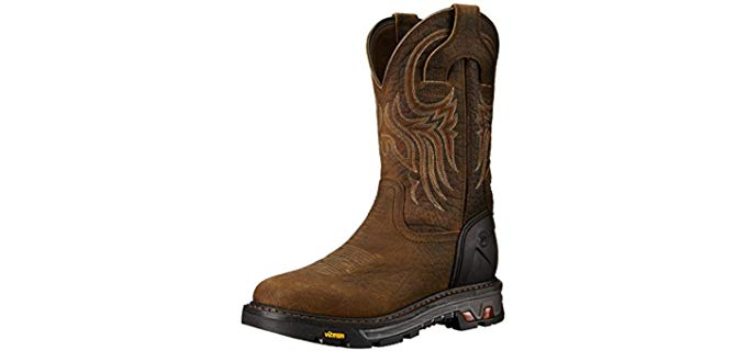 Justin Original Men's Commander - durable Work Boots