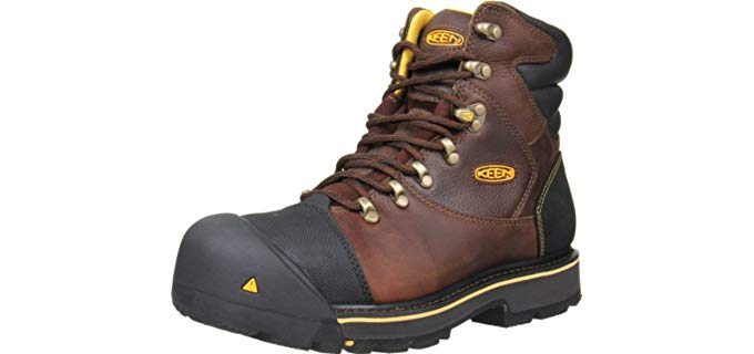 Keen Utility Men's Milwaukee - Construction Work Boot with Steel Toe