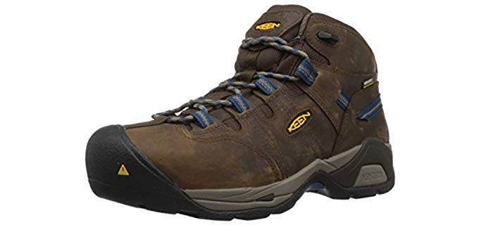 Keen Utility Men's Detroit XT - Tarsal Tunnel Syndrome Work Boot with Steel Toe Protection