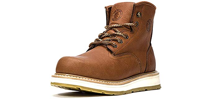 Rockrooster Men's Safety - Composite Toe Safety Work Boot