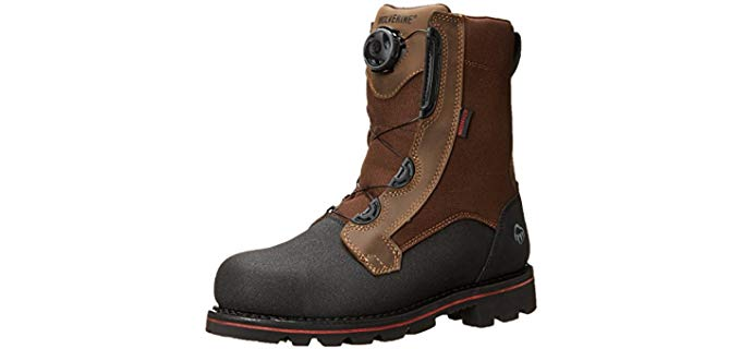 Wolverine Men's Drillbit - Chemical Resistant Durable Workboot