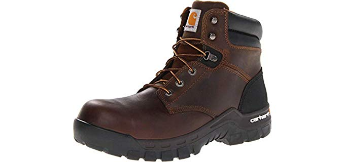 Carhartt Men's CMF6366 6-inch Rugged Flex - Composite Toe Work Boot