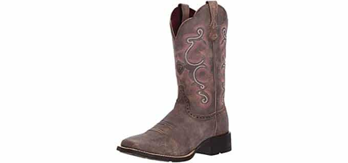 ARIAT Women's Quickdraw - Cowgirl Work Boot