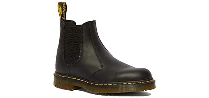 Dr. Martens Women's Chelsea Service Boots - Slip On Work Boot