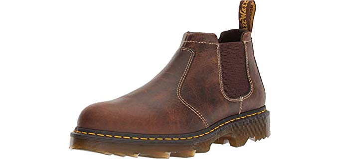 Dr. Martens Men's Penly Chelsea - Slip On Work Boot