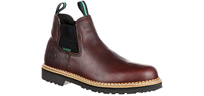 Georgia Men's Giant High Romeo GR500 - Slip On Work Boot
