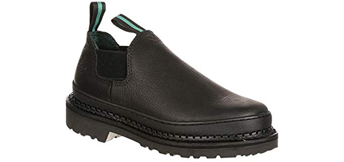 Georgia Women's Giant Romeo Work Shoe - Slip On Work Boot